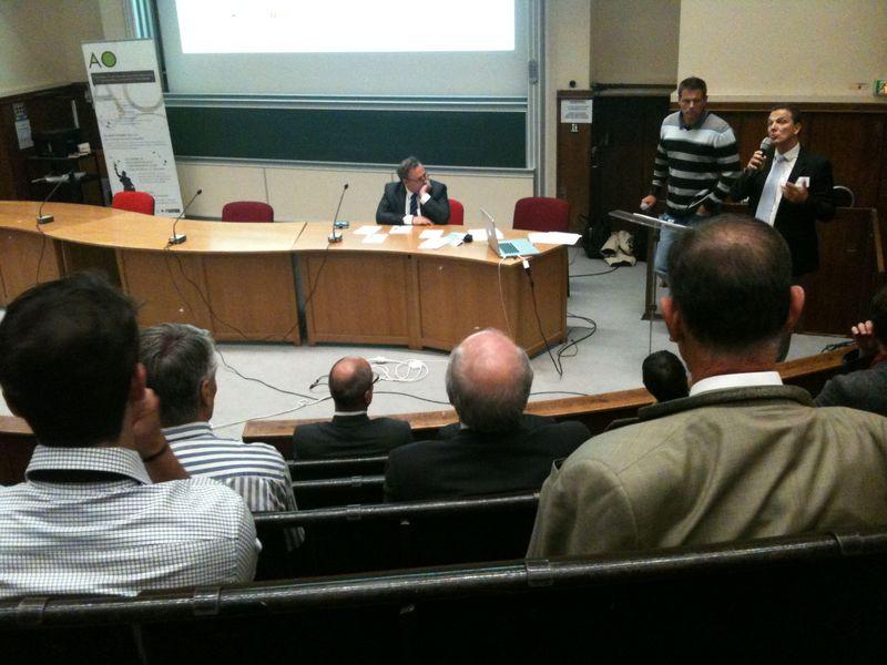 Conférence aux %22 Arts et métiers%22 17 juin 2011